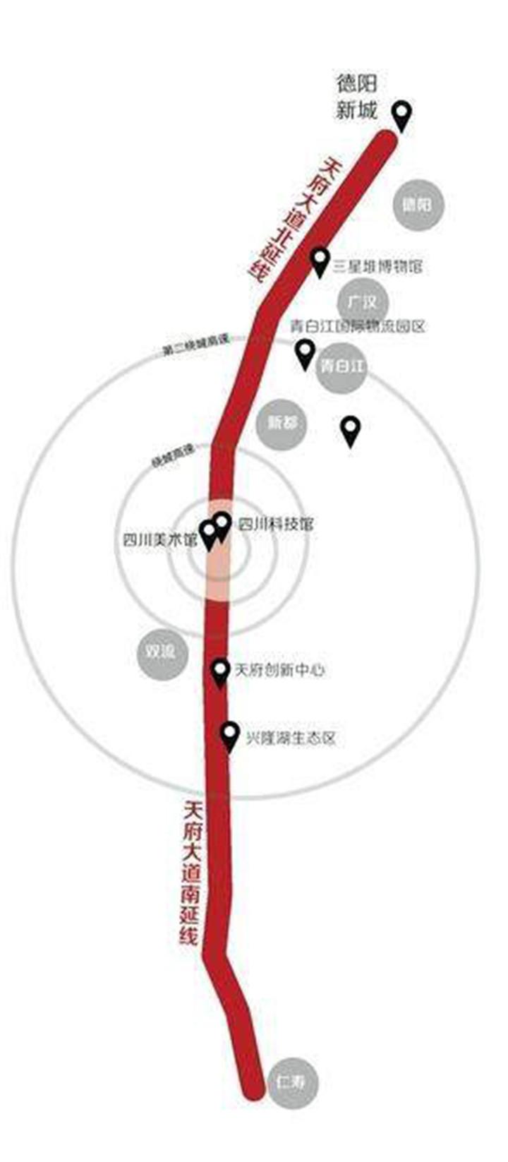 002 天府大道将是全球最长城市中轴线