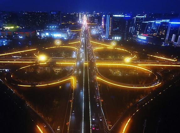 我们用灯光献礼新中国70华诞