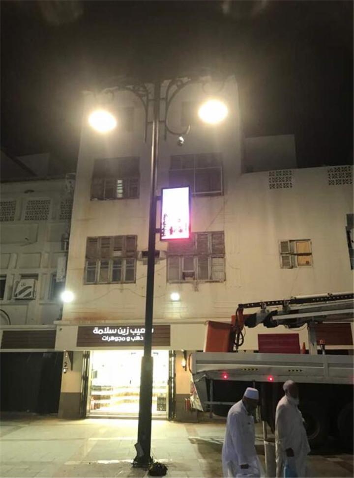 006 安装在沙特阿拉伯的智慧路灯