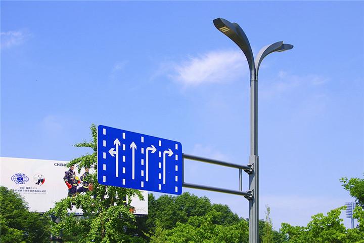 与交通指示牌合杆2